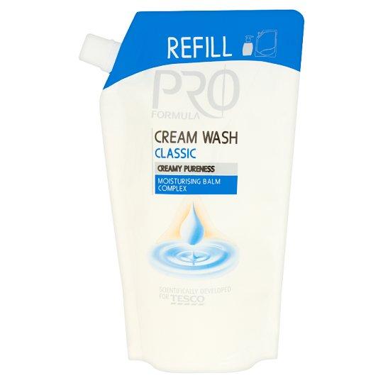 Tesco Pro Formula Tekuté krémové mýdlo Classic 500ml
