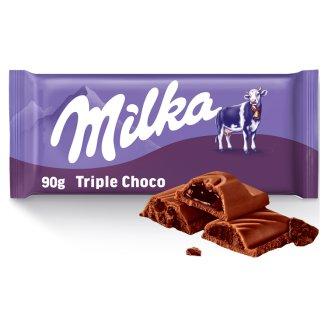 Milka Triple choco kakao 90g