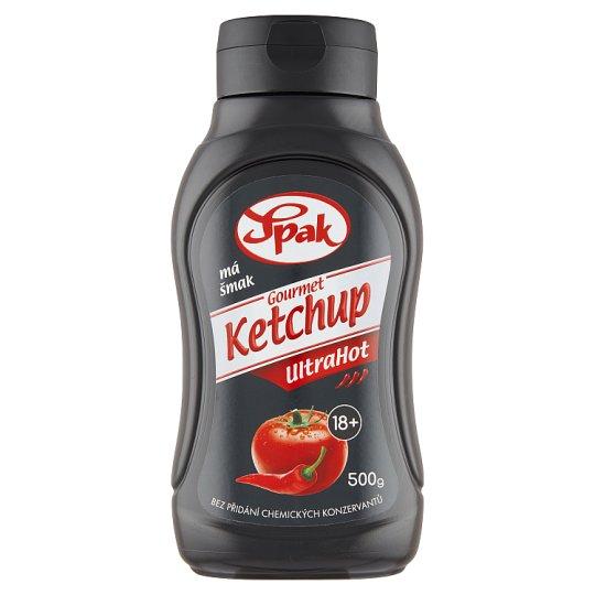 Spak Gourmet Ketchup UltraHot 500g