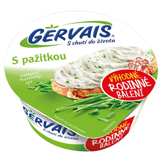 Gervais Original Krémový tvarohový sýr s pažitkou 190g