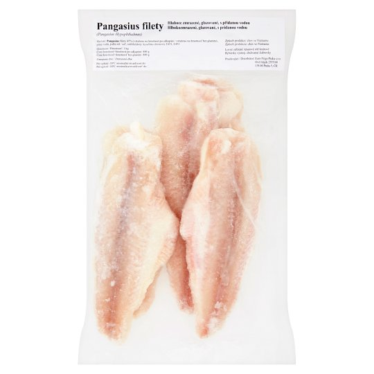 Pangasius Fillets Deep-Frozen 1kg