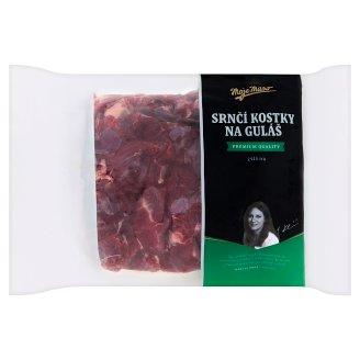 Moje Maso Srnčí kostky na guláš - zvěřina hluboce mrazené 1kg