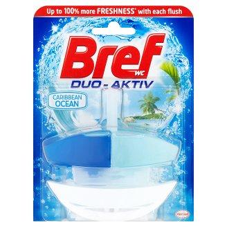 Bref Duo-Aktiv Caribbean Ocean tekutý WC blok 50ml
