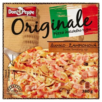 Don Peppe Originale Pizza šunko-žampionová 380g