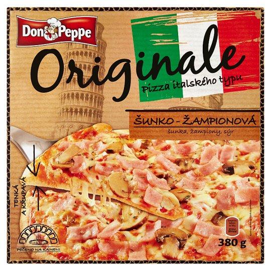 Don Peppe Originale Pizza šunko-žampionová 380g