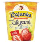 Krajanka Sour Cream with Strawberry Flavour 130g