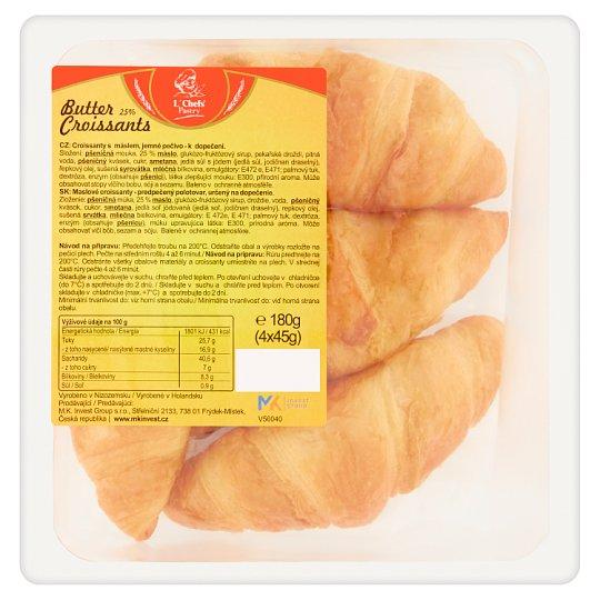 L´Chefs Pastry Butter Croissants 4 x 45g