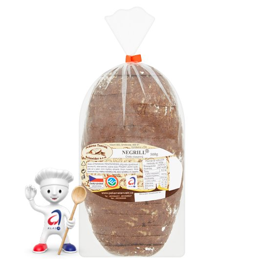 Pekárna Tanvald Negrill Multigrain Bread 500g