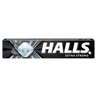 Halls Drops with Extra Strong Menthol and Eucalyptus Flavour 33.5g