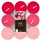 F&F Home Peony Bloom Mixed Fragrance Tealights 18 pcs