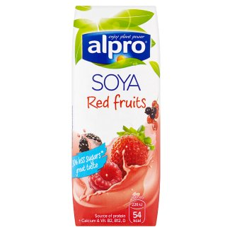 Alpro Soybean Drink with Red Fruit Juice 250ml