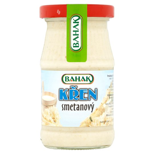 Bahak Creamy Horseradish 185g