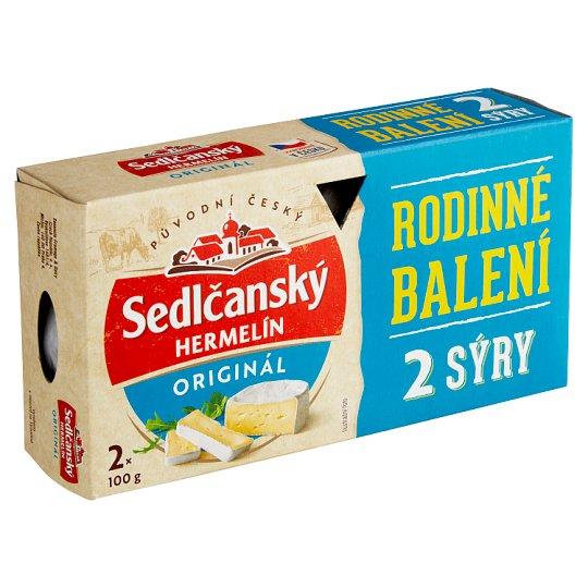 Sedlčanský Camembert Original 2 x 100g