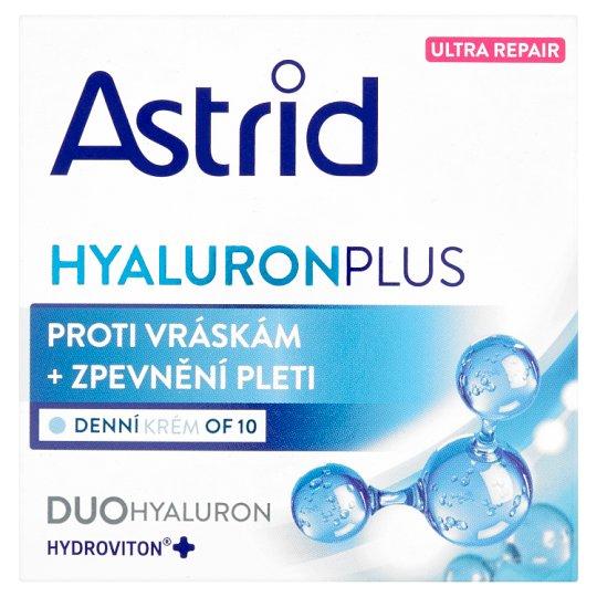 Astrid Hyaluron Plus Denní krém proti vráskám + zpevnění pleti OF 10 50ml
