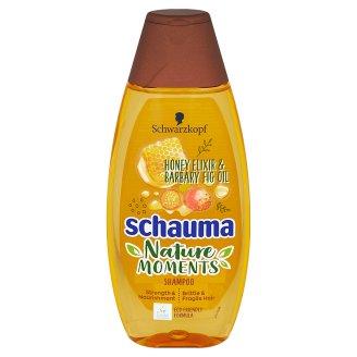 Schauma Nature Moments šampon pro regeneraci a sílu medový elixír a olej z opuncie mexické 400ml