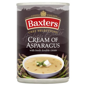 Baxters Cream of Asparagus with Fresh Double Cream 400g