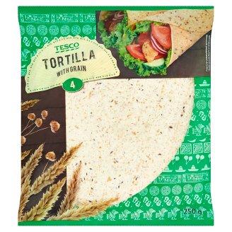 Tesco Tortilly z pšeničné mouky 4 x 62,5g