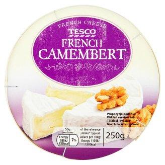 Tesco French camembert sýr s bílou plísní na povrchu 250g
