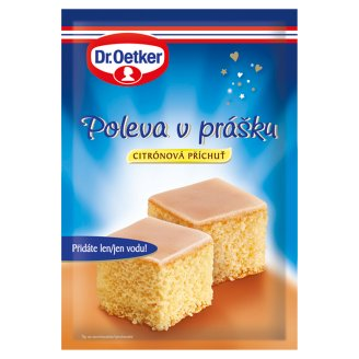 Dr. Oetker Icing in Powder with Lemon Flavour 100g