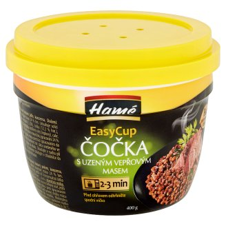 Hamé EasyCup Lentil with Smoked Pork 400g