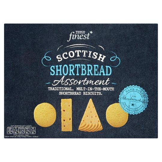 Tesco Finest Scottish Shortbread Assortment 400g Tesco