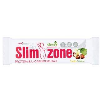 MaxSport Slim Zone Choco Vanilla & Nuts Protein Bar in Dark Icing 40g