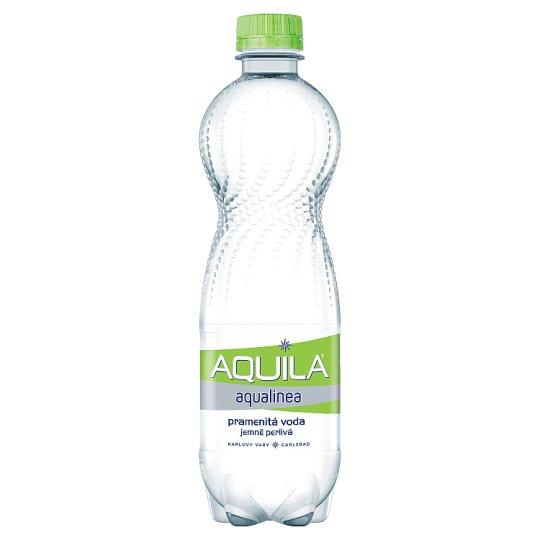 Aquila Aqualinea Pramenitá voda jemně perlivá 0,5l