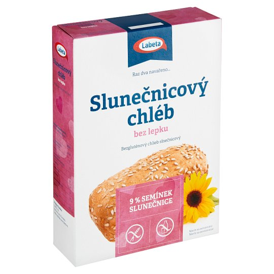 Labeta Speciál Sunflower Bread without Gluten 500g