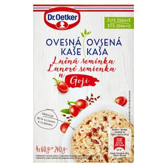 Dr. Oetker Oatmeal of Linseed and Goji 240g