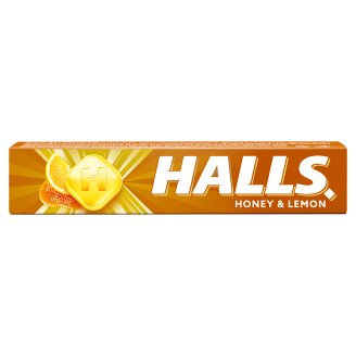Halls Drops with Honey & Lemon Flavour 33.5g