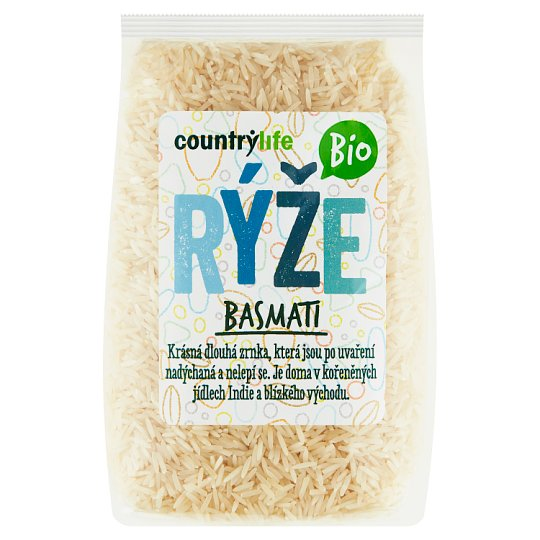 Country Life Organic Basmati Rice 500g