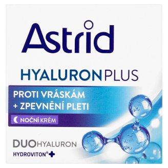 Astrid Hyaluron Plus Noční krém proti vráskám + zpevnění pleti 50ml