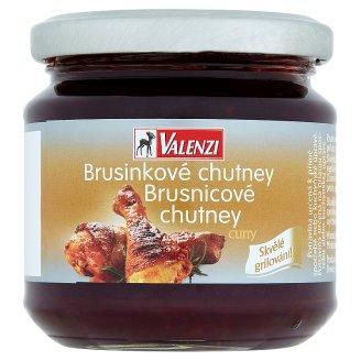 Valenzi Brusinkové chutney curry 220g