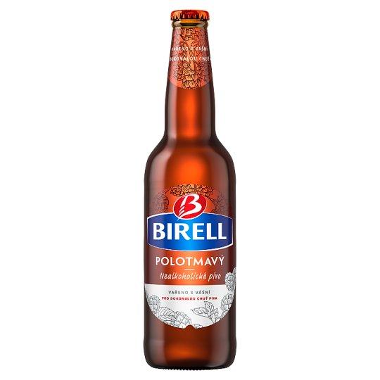 Birell Polotmavý nealkoholické pivo 0,5l
