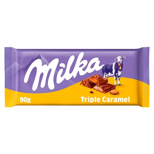 Milka Triple à la caramel 90g