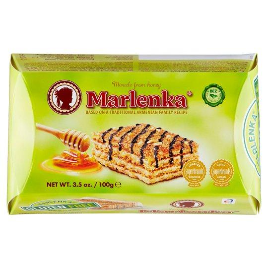 Marlenka Bezlepkový medový dortík s vlašskými ořechy 100g