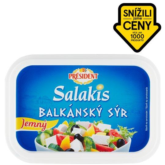 Président Balkánský sýr jemný 250g