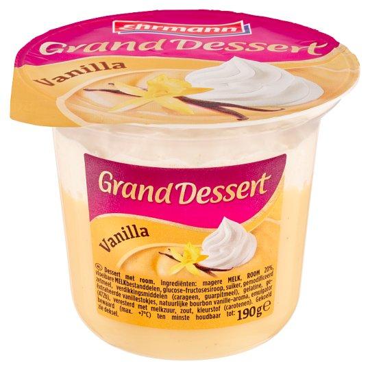 Ehrmann Grand Dessert Vanilla 190g