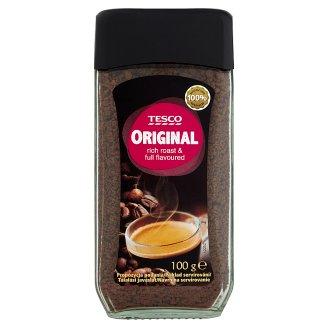 Tesco Original Rozpustná káva sušená 100g