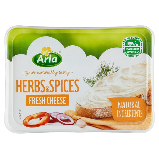 Arla Čerstvý sýr s bylinkami a kořením 150g