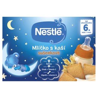 Nestlé Mlíčko s kaší sušenkové 2 x 200ml