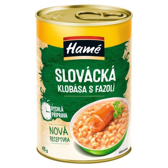 Hamé Slovacko Sausage with Beans 400g