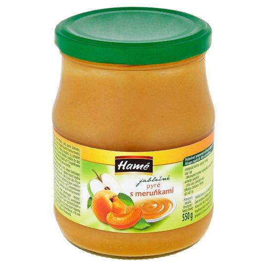 Hamé Apple Puree with Apricots 550g