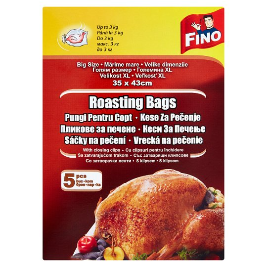 Fino Roasting Bags 35 x 43cm 5 pcs