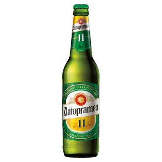 Zlatopramen 11 pivo ležák světlý 0,5l