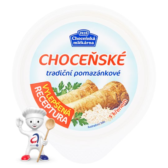 Choceňská Mlékárna Choceňské Traditional Spreas with Horseradish 150g
