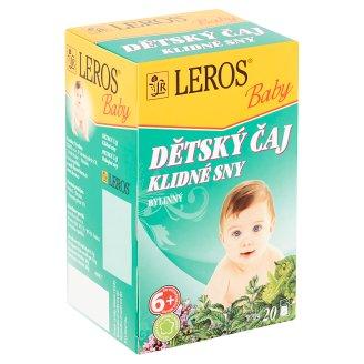 Leros Baby Dětský čaj klidné sny bylinný 20 x 1,5g