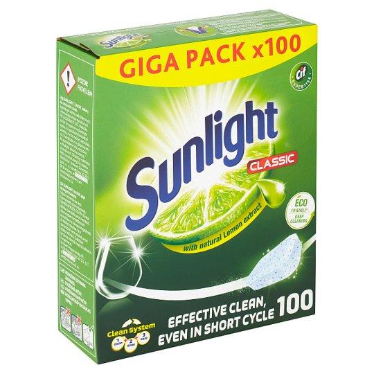 Sunlight Classic Tablety do myčky nádobí 100 ks