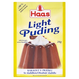 Haas Light Puding Cocoa Powder 24g