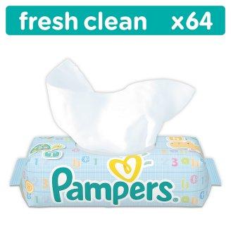 Pampers Fresh Clean Vlhčené Ubrousky 64 ks